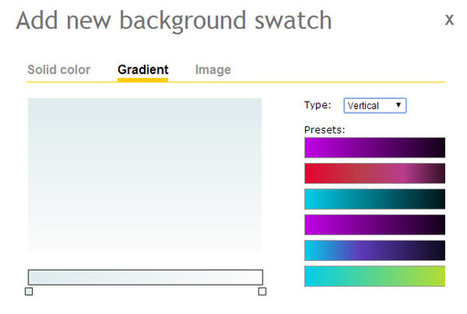 How to change and update background colors in Presentations - Presenter | Check out cool tools for Learning | Scoop.it