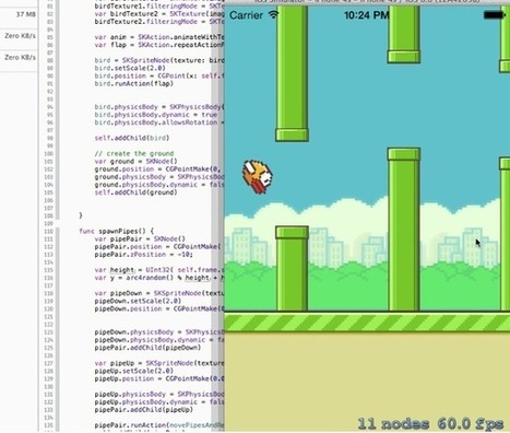 "Swift : Flappy Bird est le nouveau ""Hello World"" 