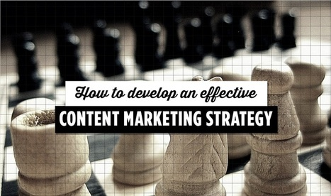 How To Develop An Effective #ContentMarketing Strategy - #infographic   Les Outils du Community Management   Scoop.it