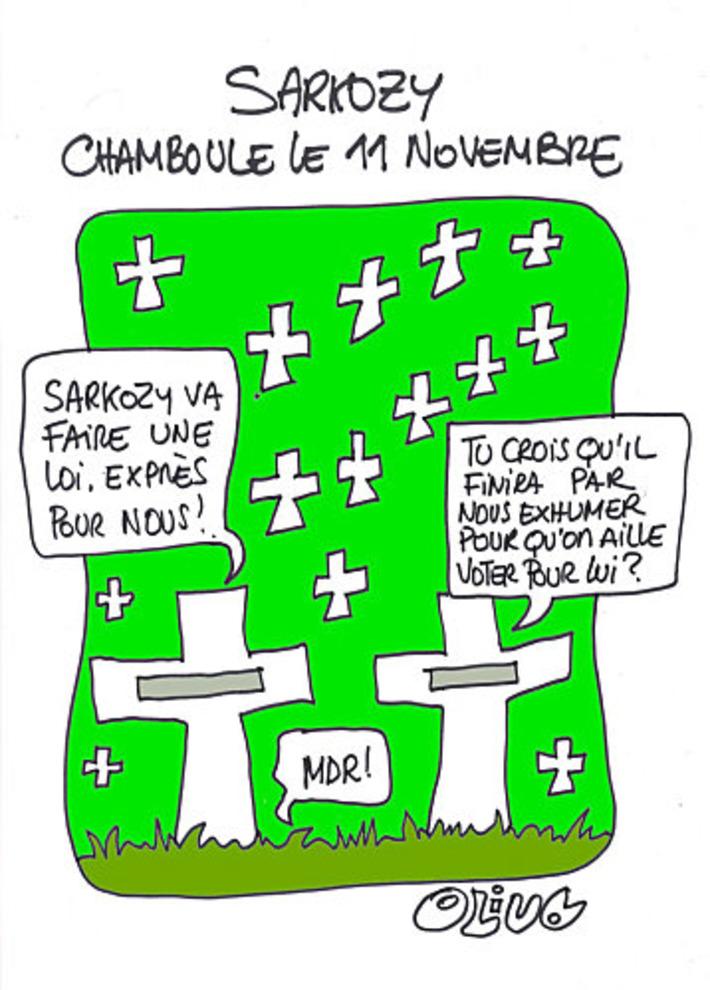 Sarkozy chamboule le 11 novembre | Baie d'humour | Scoop.it