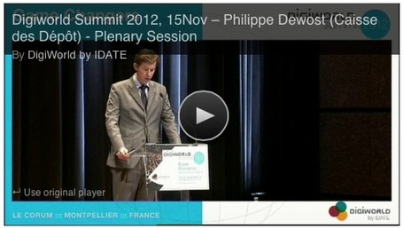"IDATE DigiWorld Summit 2012 ""Platforms & Shovels for the next Gold Rush"" plenary session panel introduction 