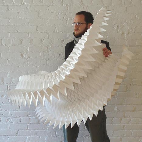 The Inspiring Artwork of Paper Engineer Matt Shlian (and How It's Inspiring Nano-Scientists) | Art and… | Scoop.it