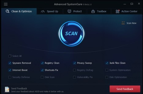 Advanced SystemCare 9.0.3 Pro Serial Keys Free Download | full version softwares free download | Scoop.it