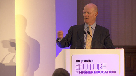 David Willetts at Guardian Higher Education Summit - video | Educación a Distancia y TIC | Scoop.it
