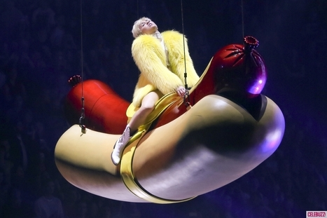Did Miley Cyrus Put a Fan's Dirty Thong In Her Mouth? - Celebuzz | Miley Cyrus | Scoop.it