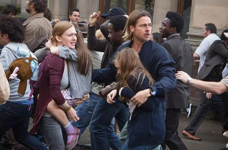 'World War Z' Review: A Novel (Albeit Bloodless) Zombie Movie - FleshEatingZipper | The Road | Scoop.it