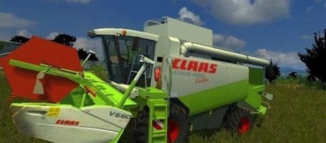 Claas Lexion 460 Mod | FS2013Mods | Farming Simulator 2013 Mods | Scoop.it