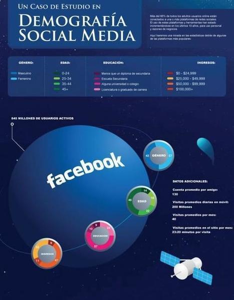 #ReaprenderMarketing: DEMOGRAFÍA SOCIAL MEDIA | Educación a Distancia y TIC | Scoop.it