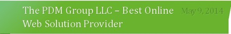 The PDM Group LLC - Best Web Solution Provider Company | The PDM Group LLC | Scoop.it