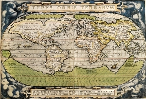 Cartes et cartographes à l'époque moderne / France Inter | Map@Print | Scoop.it