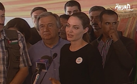 Angelina Jolie visits Jordan camp for Syrian refugees | How do certain television programs perpetuate racial or ethnic stereotypes? | Scoop.it