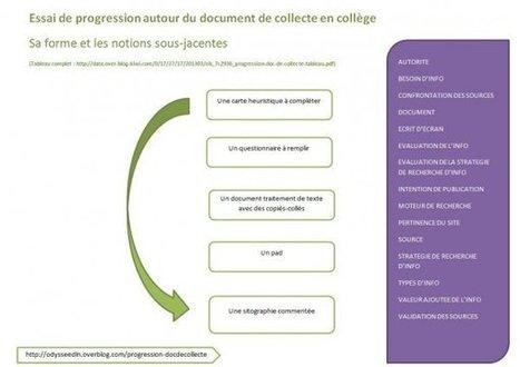 Le document de collecte : de la théorie à la mise en pratique - Doc pour docs | Education aux médias et à l'information | Scoop.it