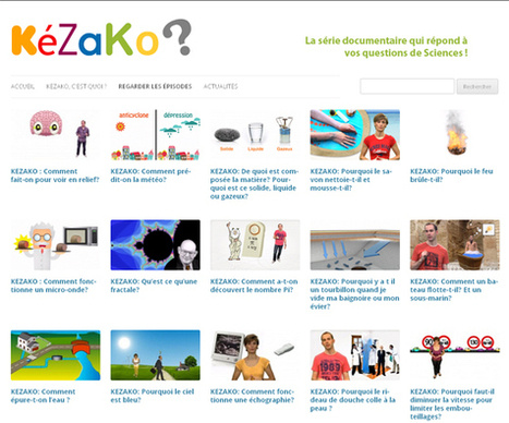 2 sites primés pour vulgariser, promouvoir la science auprès des jeunes | | TICE en éducation, ExAo en SVT | Scoop.it