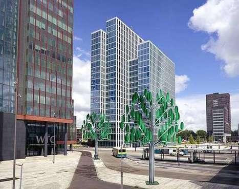 L'arbre à vent, une innovation pour créer de l'énergie tout en réconciliant nature et technologie   Economie verte   Scoop.it