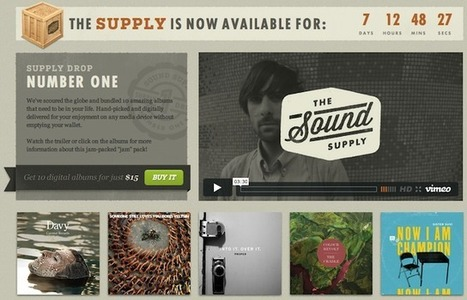 Not A Bad Bundle Idea: 'The Sound Supply' Offers 10 Digital Music Albums For $15 | Music business | Scoop.it