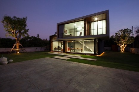 W House in Nakhon Ratchasima by IDIN Architects | Awesome Architecture | Scoop.it