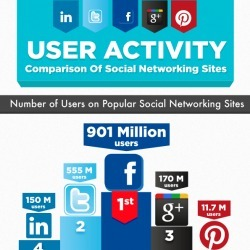 The Users Of Social Media | Visual.ly | Best Infographics of all time | Scoop.it