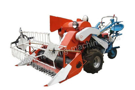 Driving-type Small Rice Harvester, a Great Helper for Farmers to Harvest Rice | Farming Machine | Scoop.it