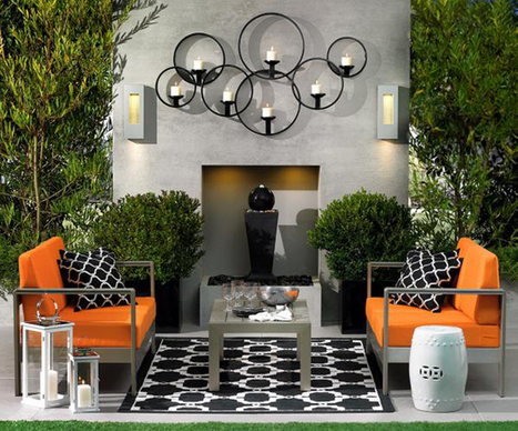 OUTDOOR LIVING: THE SUMMER PATIO | KOUBOO.com - Well Traveled Home Decor & Interior Design | Scoop.it