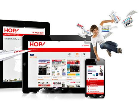 HOP! lance son offre de presse digitale | Les médias face à leur destin | Scoop.it