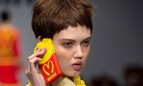 Fast-food fashion: Moschino accused of 'glorifying' McDonald's logo | Eating Well | Scoop.it