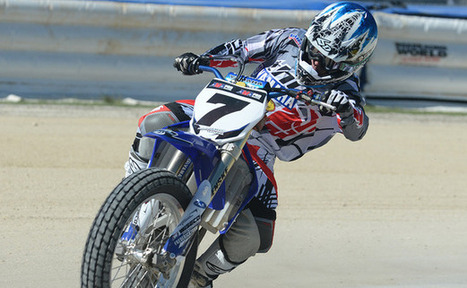 Sammy Halbert off to a Solid and Healthy Start to 2014 - AMA Pro Racing   California Flat Track Association (CFTA)   Scoop.it