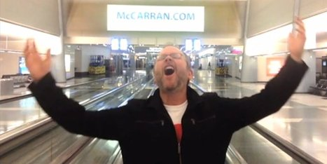Guy Stuck Alone In Airport Finds Epic Cure For Boredom | Easy Travelers | Scoop.it