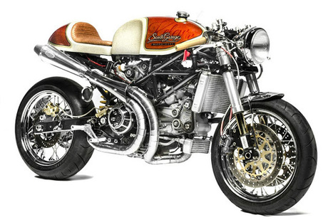 Ducati Monster S4R Cafe Racer ~ Grease n Gasoline | CARS, BIKES & MUCH MORE | Scoop.it