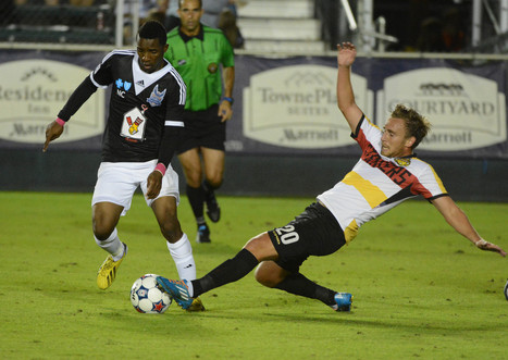 Strikers closing in on playoffs after 1-1 draw - Sun Sentinel | free-soccer tournaments playing around the globe | Scoop.it