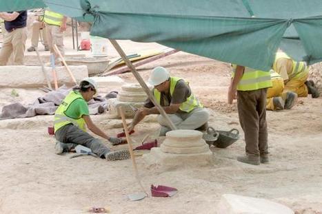 Los restos del templo de Isis de Cartagena podrán visitarse en otoño | Egiptología | Scoop.it