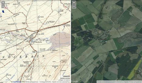 Side by Side viewer - Explore Georeferenced Maps | CartOrtho | Scoop.it
