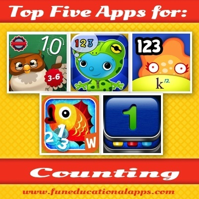 Top Five Counting Apps for Toddlers and Preschoolers - | Best Apps for Kids | Scoop.it