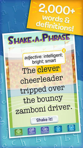 Shake-a-Phrase: Fun With Words and Sentences   Edtech PK-12   Scoop.it