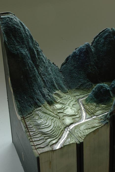 Πανέμορφα τοπία φτιαγμένα πάνω σε… βιβλία! | Creativity and imagination | Scoop.it