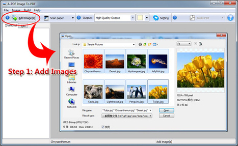 How to convert images (jpeg, png, gif, bmp, jpg) to PDF files by using A-PDF Image to PDF? [A-PDF.com] | How to convert images (jpeg, png, gif, bmp, jpg) to PDF files by using A-PDF Image to PDF? | Scoop.it
