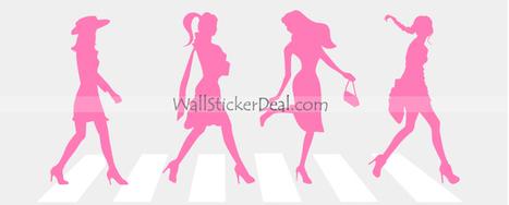 City Girls Wall Stickers – WallStickerDeal.com   Tree Wall Stickers   Scoop.it