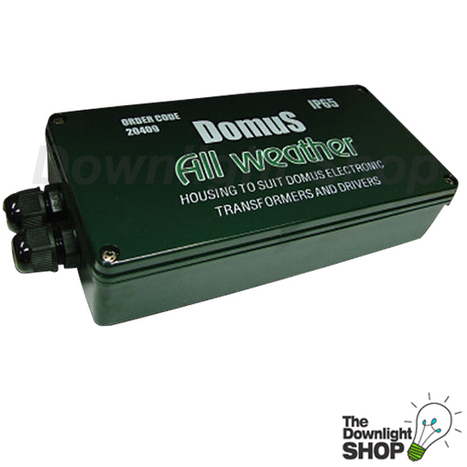 Weatherproof Transformer Box Weatherproof Box Allows certain LED Drivers [DMWPBOX] - $22.99 : LED Downlights | Sydney, Melbourne, Brisbane, Adelaide, Perth, Online Lighting Store | Cheap Downlights | Scoop.it