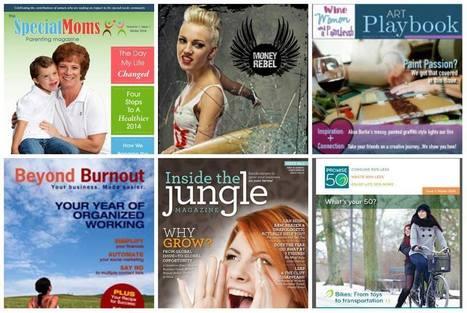 Meet these 6 new digital magazine publishers! | Mom Entrepreneurs | Scoop.it