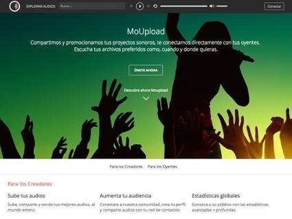 MoUpload, un nouveau site avec de la musique libre   Autour du Web   Sites et outils métier   Scoop.it
