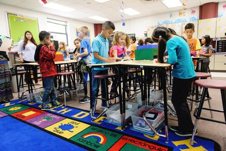 Être debout en classe pourrait aider les enfants à apprendre | Libre pédagogie... | Scoop.it