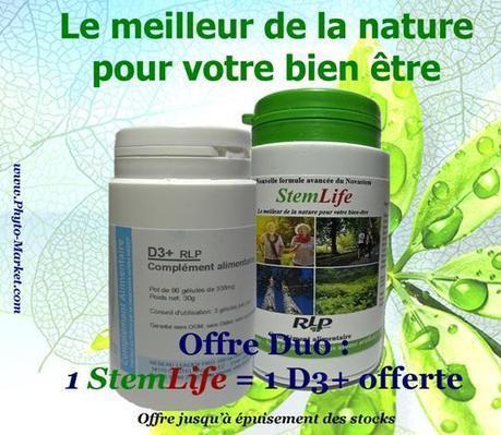 Offre Duo : StemLife + D3 Plus Offert - Phyto-Market.com by Jean-Marc FRAICHE | alternative-sante | Scoop.it