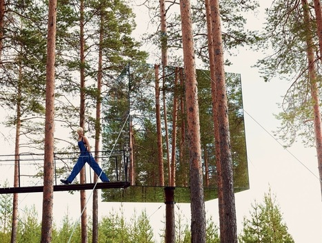Karlie Kloss Visits Sweden's Treehotel   ReConnecting to Nature   Scoop.it