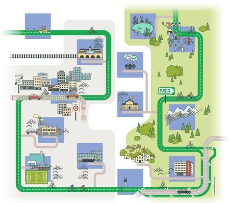 Dossier « Les Territoires à Vélo » : 13 domaines d'action pour les collectivités - Départements & Régions Cyclables   Politiques cyclables des territoires   Scoop.it
