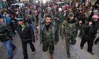 Syrian rebels Panic, flee to Europe: New facts and angles | Global politics | Scoop.it
