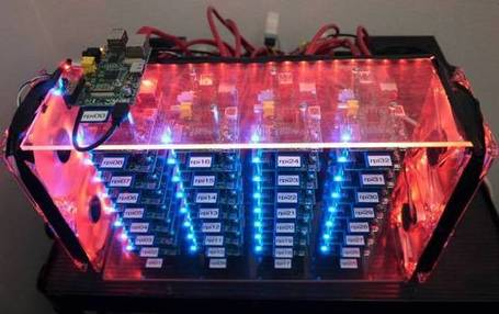 US boffin builds 32-way Raspberry Pi cluster • The Register | Linux A Future | Scoop.it