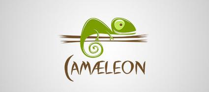 40 Adorable And Creative Chameleon Logo Design | Logo & Brand | Scoop.it