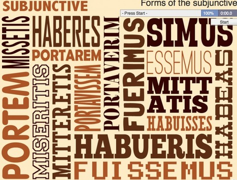 Forms of the subjunctive | Latin.resources.useful | Scoop.it