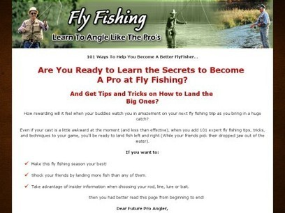 101 Fly Fishing Tips | EBOOK STORE | News On Fly Fishing in the U.S. | Scoop.it
