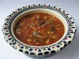 Soupe marocaine (harira) végétarienne   C'est bon, ça se mange, ça se boit   Scoop.it