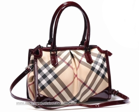 Burberry Large Supernova Brown Red Nova Barton [B002399] - $188.00 : Burberry Outlet Stores,Burberry Outlet Online,Cheap Burberry For Sale | Burberry Oultet | Scoop.it